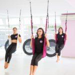 προβολή άσκησης aerial yoga 10