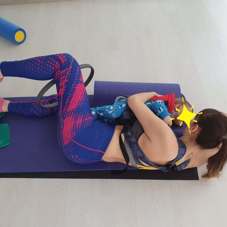 ΆΣΚΗΣΗ Mammy- baby training 4