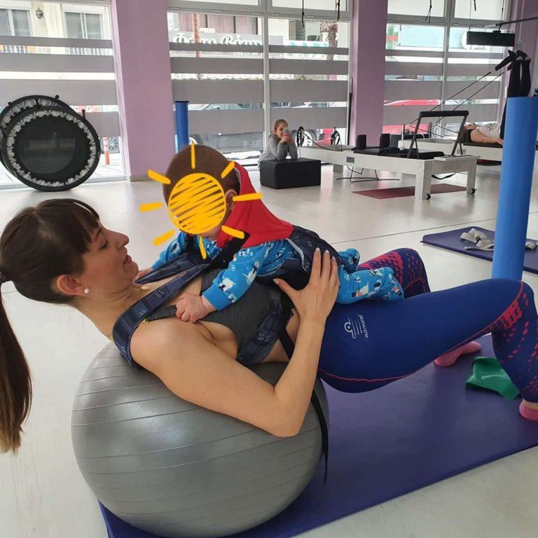 ΆΣΚΗΣΗ Mammy- baby training 5