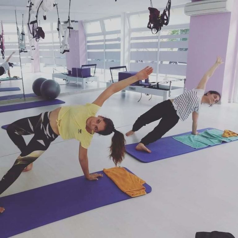 προβολή άσκησης Yoga vinyasa 2