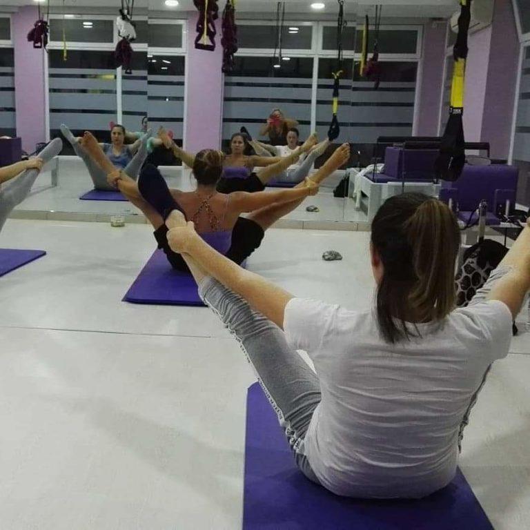 προβολή άσκησης hatha yoga 2